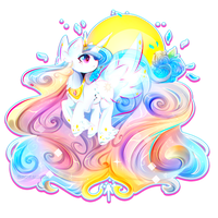 Little Celestia by Koveliana