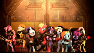 Pony Fortress 2 (Remake) by SourceRabbit