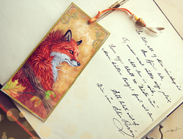 Fox Letter by TransparentGhost