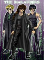 Marauders meets the Matrix by chibikat
