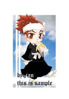 Renji Chibified  by zen by siguredo