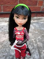 Monster High repaint - Cleo by periwinkleimp