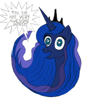 Luna has a message for you by Doorooz