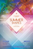 Summer Shapes Flyer by styleWish