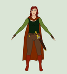 HARPG Middleearth: Sophie Redbird Clothing Sheet by AkaneChoryu