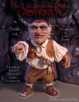 Labyrinth Hoggle figure by Skulpturen