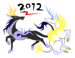 New Year 2012 by RyuAmano