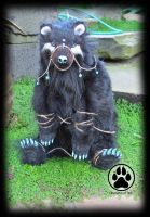 NFS Denali Wind x Creatures of Nat bear artdoll! by CreaturesofNat