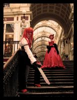 Grell and Angelina by Sweet-Empathy
