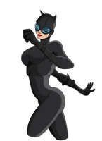Catwoman by Maggotx9