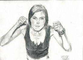 Morgan Webb by E-Dwayne-Caldwell