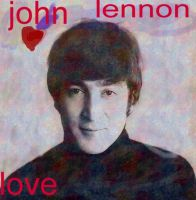 john lennon lover by analovecatdog