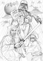 A New Hope-Sketch by tuan-hollaback