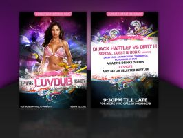LuvDub FLyer by idesign-it