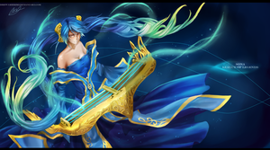 Sona - League of Legends by dishwasher1910