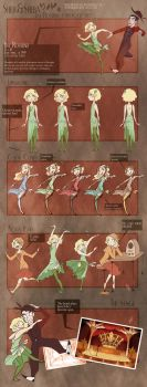 Ida Character Sheet by MarionetteDolly