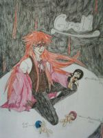 Grell Sutcliff by AmbiCrow