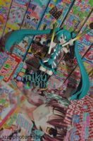 hatsune miku by azztried