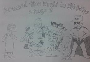 The simpsons game stage 3 by komi114