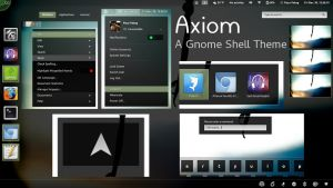 Axiom - Gnome Shell Theme by axiom613