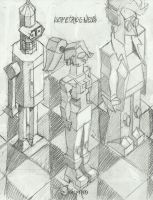 Isometric-e-ness 1 by kaspired