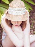 Sun Hat by Queen-Kitty