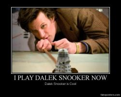 Dalek Snooker by hewo2611