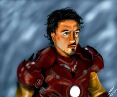 Tony Stark by BloodyWoman