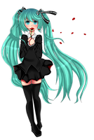 Saihate / Hatsune Miku / Fan art by KoRe-MiChI