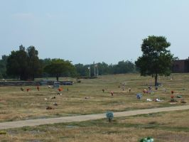 Ft. Lincoln Cemetary 25 by GimpTron
