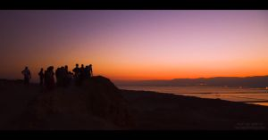 Dead Sea Sunrise by omergafla