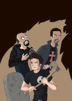 Ghost Adventures Crew 2 by BoukenRed