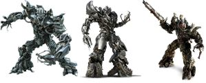 Transformers Live action movie Megatron reef. by DCSPARTAN117