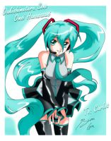 Miku para Ronin by Shinta-Girl