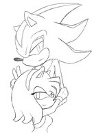 Shadow x Amy by xmissbluex