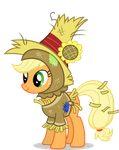 Applejack In Costume by th3AnimeFreak