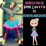 Muneca PNG #O3 [Demi Lovato] by CrayolaWasHere