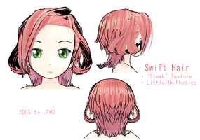 MMD- Swift Hair -DL by MMDFakewings18