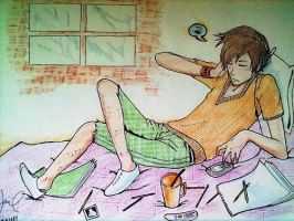 daily routine by mel0018