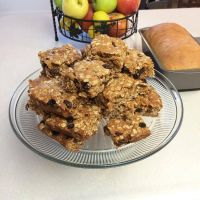 Oatmeal Raisin Cookie Bars by Deathbypuddle