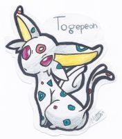 Togepeon by Aqws7