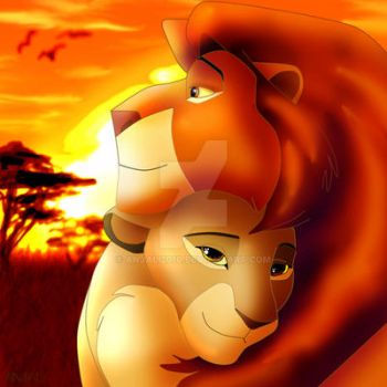 Mufasa and Sarabi are in love by Anjali2010