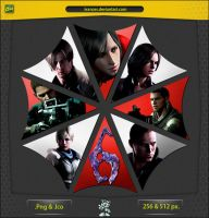Resident Evil 6 - ICON v2 by IvanCEs
