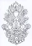 Tattoo Design by Scarfication-Blood