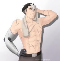 Shiro, where did your shirt go? by whymeiy