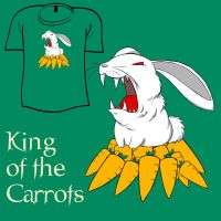 Woot Shirt - Carrot King by fablefire