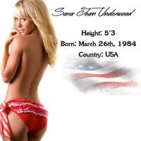 Most Beautiful Woman of her Country - USA by BTTF2