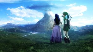 Link and Zelda Anywhere Evanescence by DiegoSkywallker