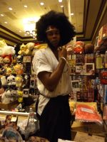 Afro Samurai by archangelselect