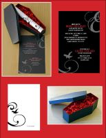 Project 2: Invitations by suede631